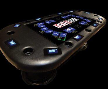 Digital Poker Table