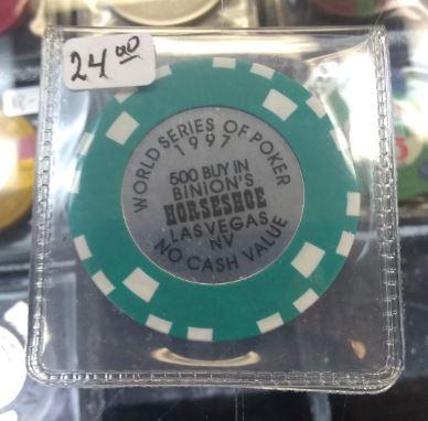 1997 WSOP $500 Lammer Chip