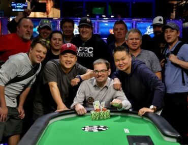 John Reading WSOP bracelet winner 2015