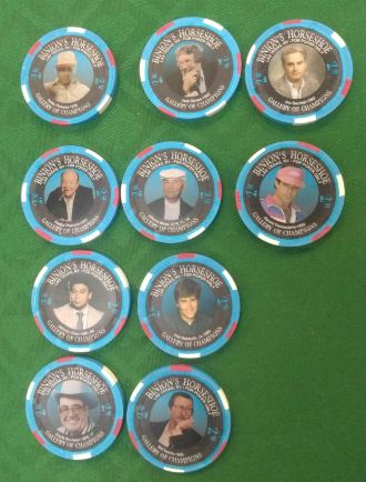 Rare poker chips from Spinetti's