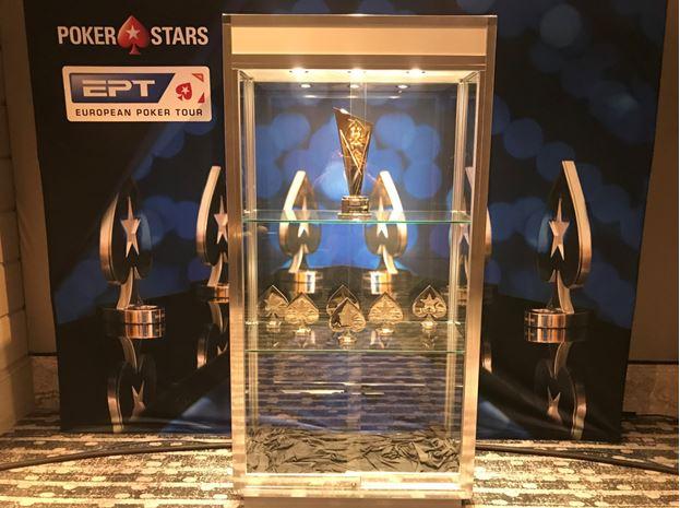 EPT Barcelona trophies