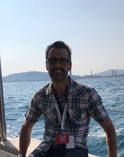 Geoff Fisk catamaran