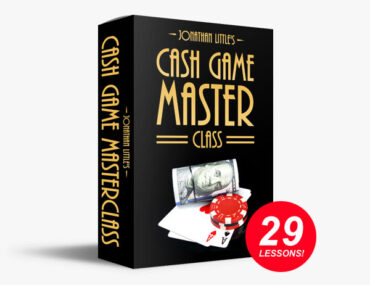 Jonathan Little Cash Game Master Class