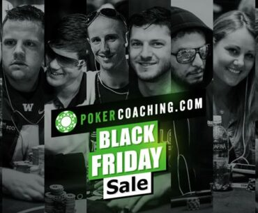 PokerCoaching.com Black Friday Sale