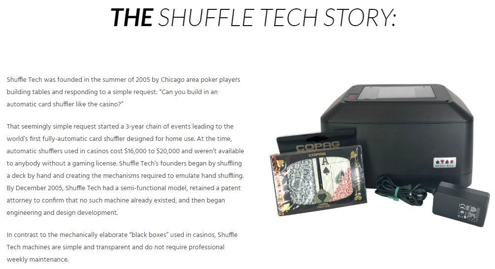 Shuffle Tech Story