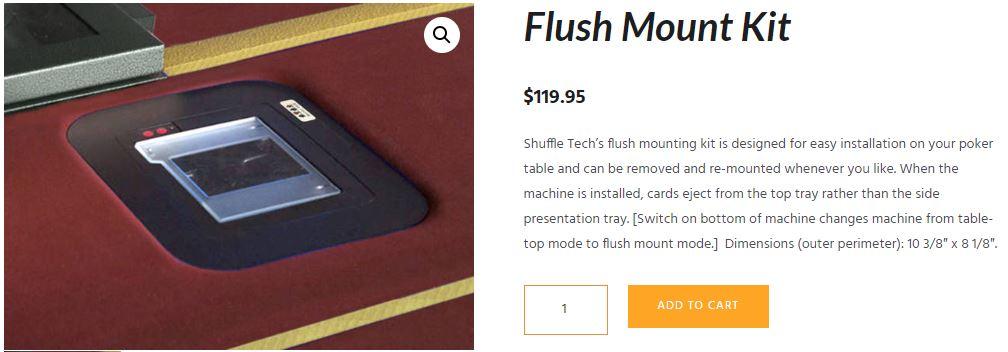 Shuffle Tech mount kit