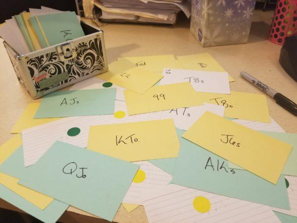 Amanda Botfeld poker flashcards