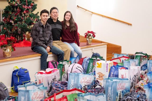 Bernard Lee family gifts