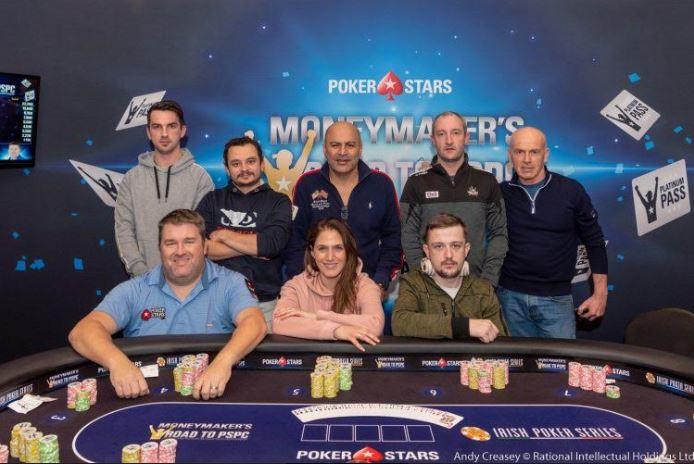 Chris Moneymaker makes final table in Dublin