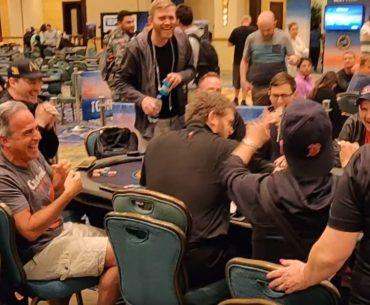 laughing poker