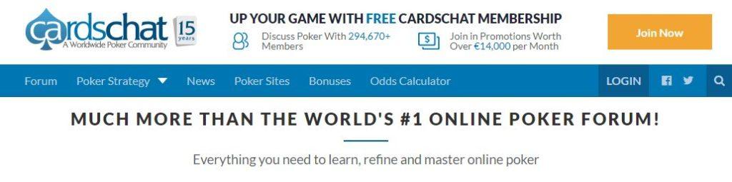 CardsChat forum