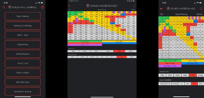 Preflop Advantage iOS Screenshots
