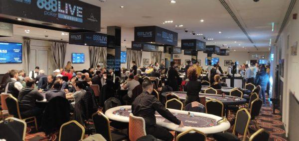 888poker LIVE Madrid poker room