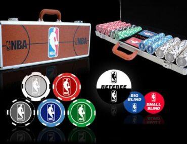 NBA poker chips