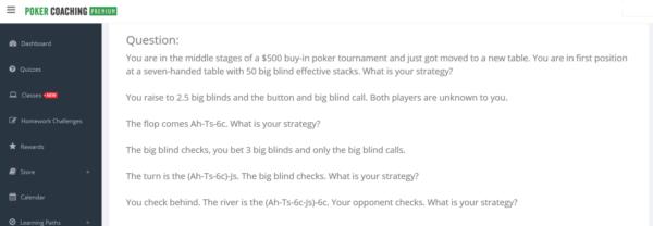 Homework Challenge Pokercoaching.com
