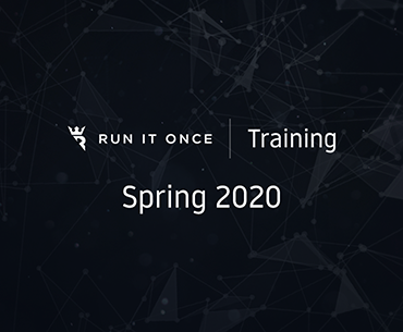 Run It Once Training Spring 2020
