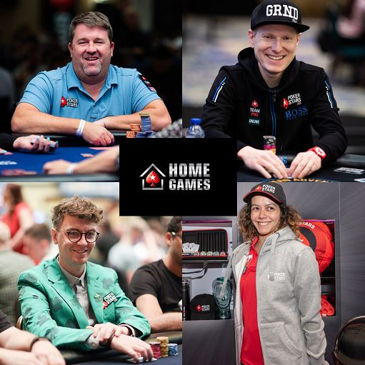 Chris Moneymaker Felix Schneiders Fintan Hand GJ Reggie home games