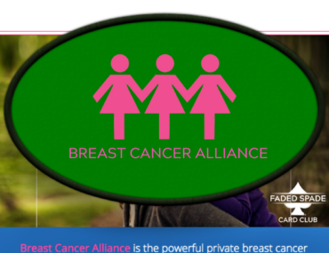 Faded Spade Breast Cancer Alliance