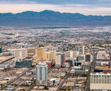 Las Vegas city view