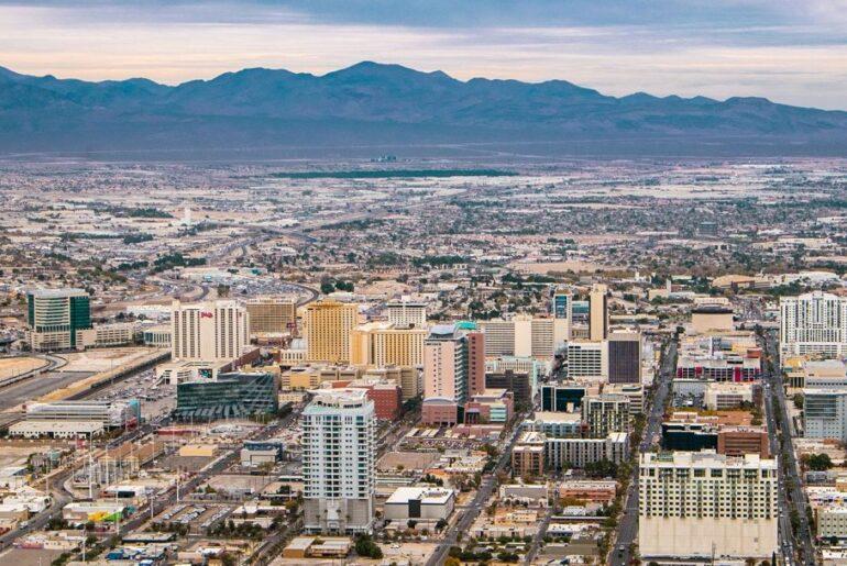 Las Vegas city view
