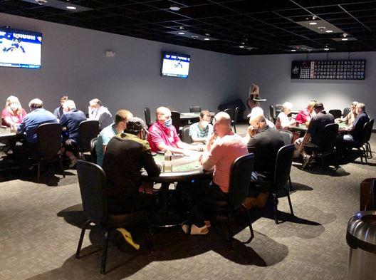 poker table masks