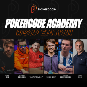 Pokercode Academy Coaches