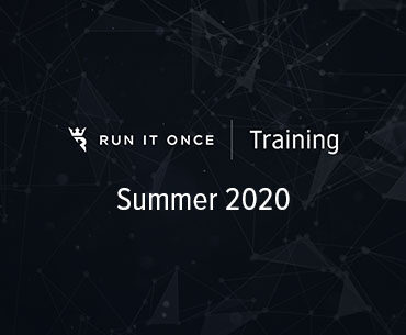 Run It Once Training Summer 2020