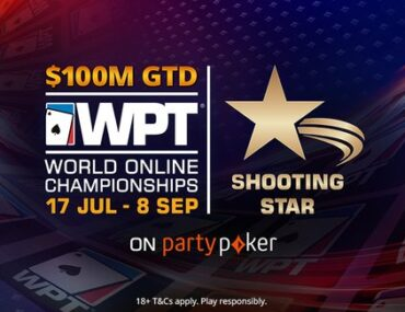 partypoker WPT Shooting Star charity