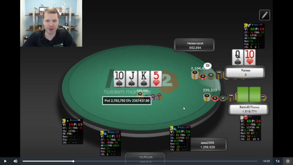 Pokercoaching.com 30-day challenge Day 13