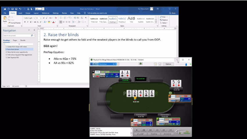 The Poker Forge Pre-flop Hands