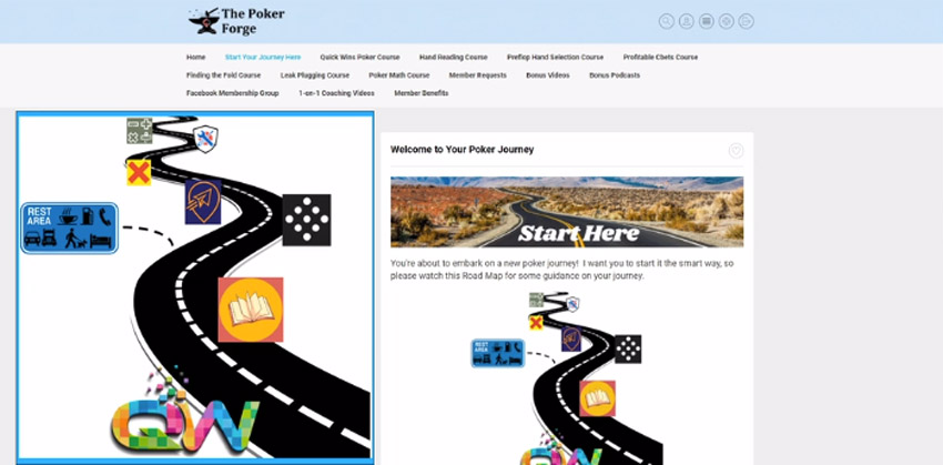 The Poker Forge Road Map