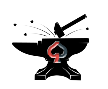 The Poker Forge logo