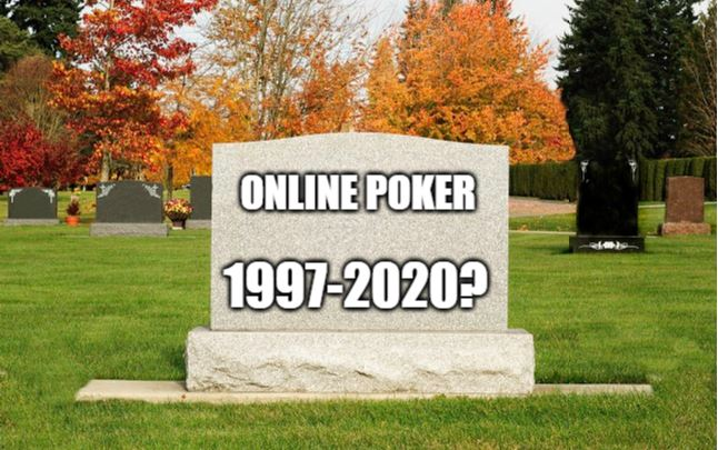 death of online poker