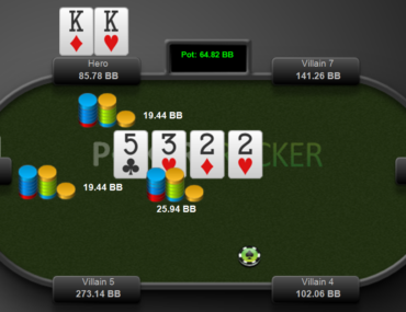 call the turn with a strong overpair