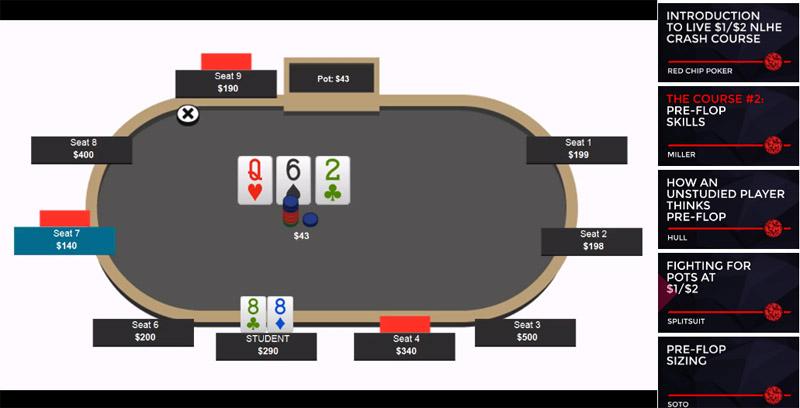 Red Chip Poker live cash games