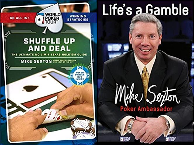 Mike Sexton books