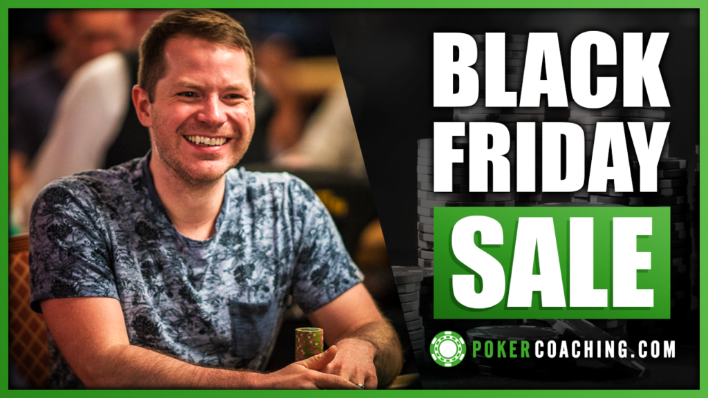 Pokercoaching Black Friday Sale