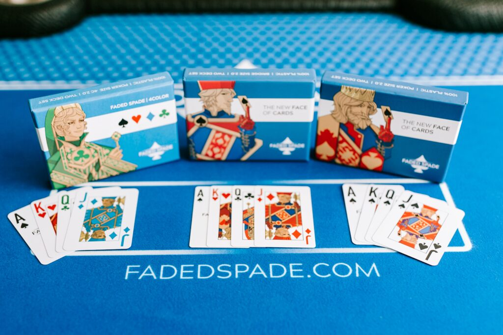 Faded Spade Playing Cards