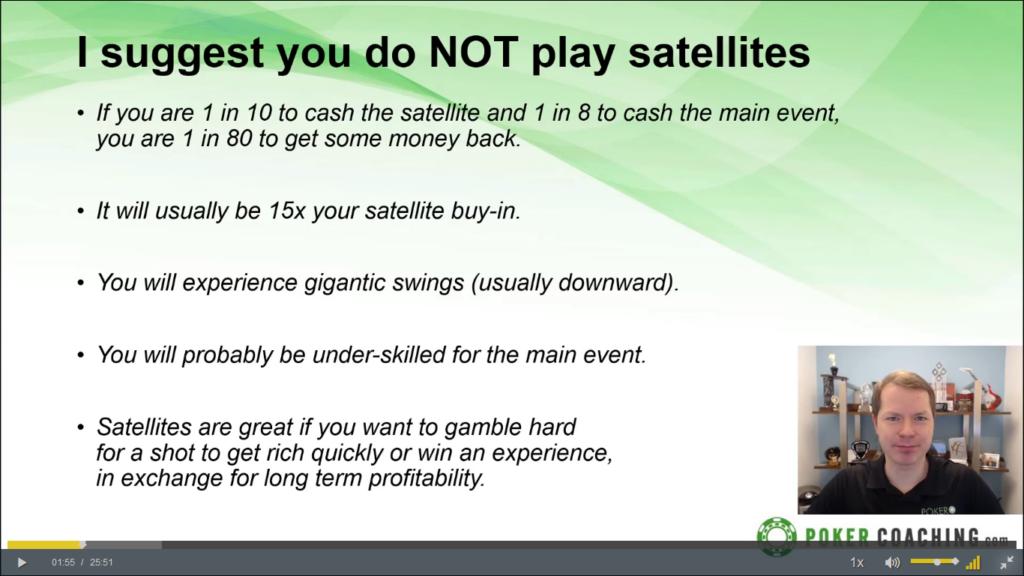 Pokercoaching.com Tournament Masterclass