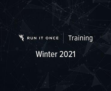 Run It Once Training Winter 2021