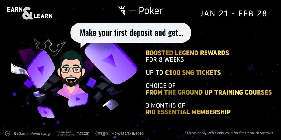 Run It Once Poker promo