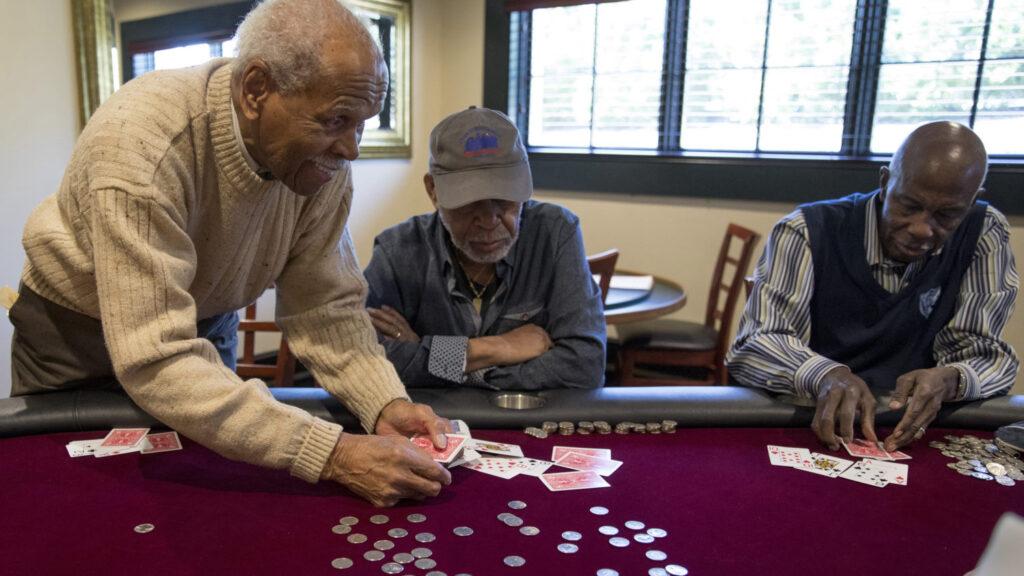 Black History Month poker club
