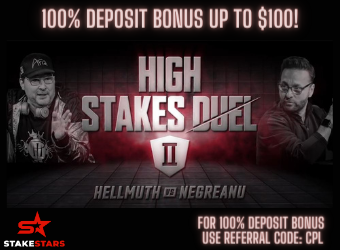 Negreanu Hellmuth High Stakes Duel StakeStars
