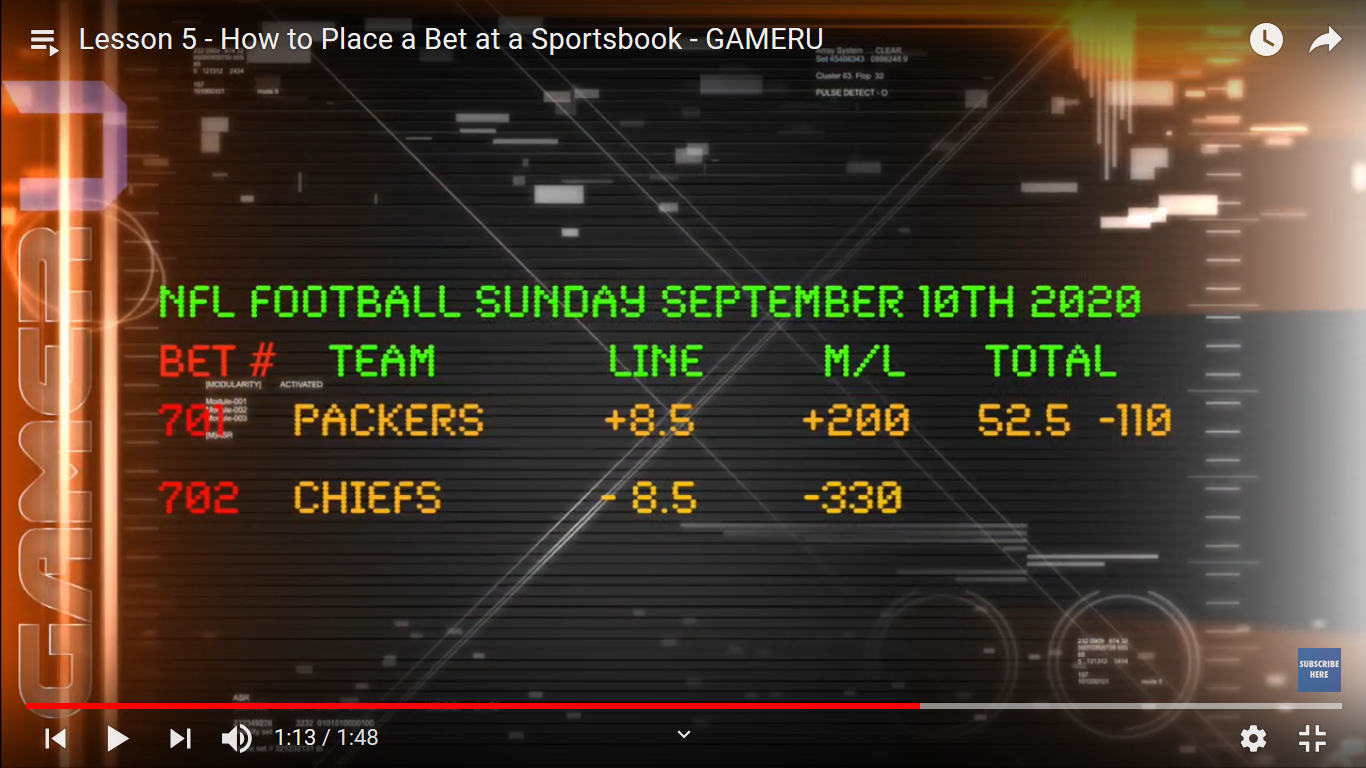 how to place a bet at a sportsbook