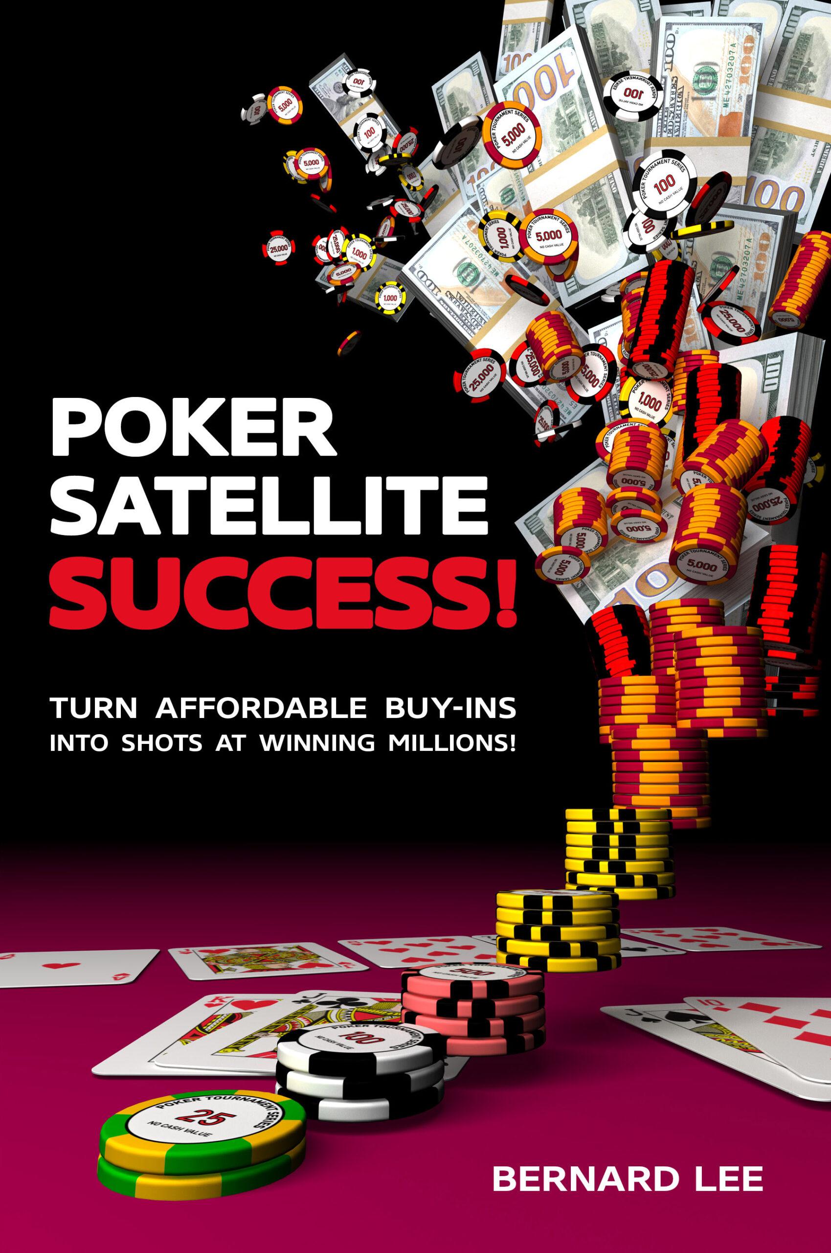 Book Cover - Poker Satellite Success