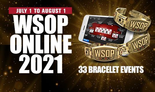 2021 WSOP online