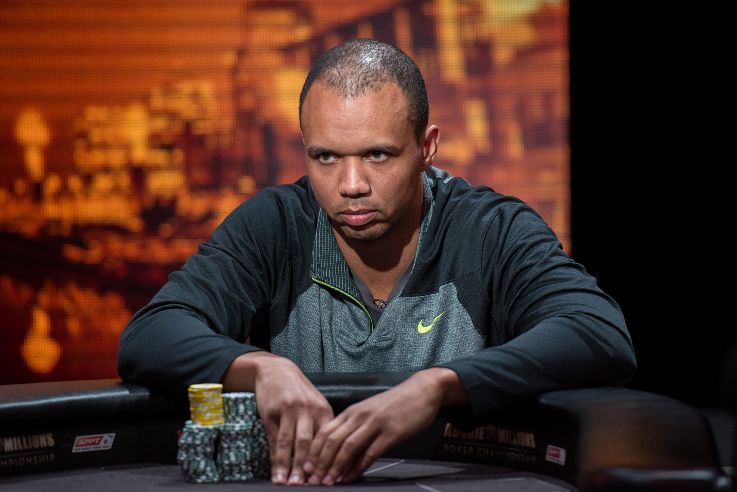 Phil Ivey death stare