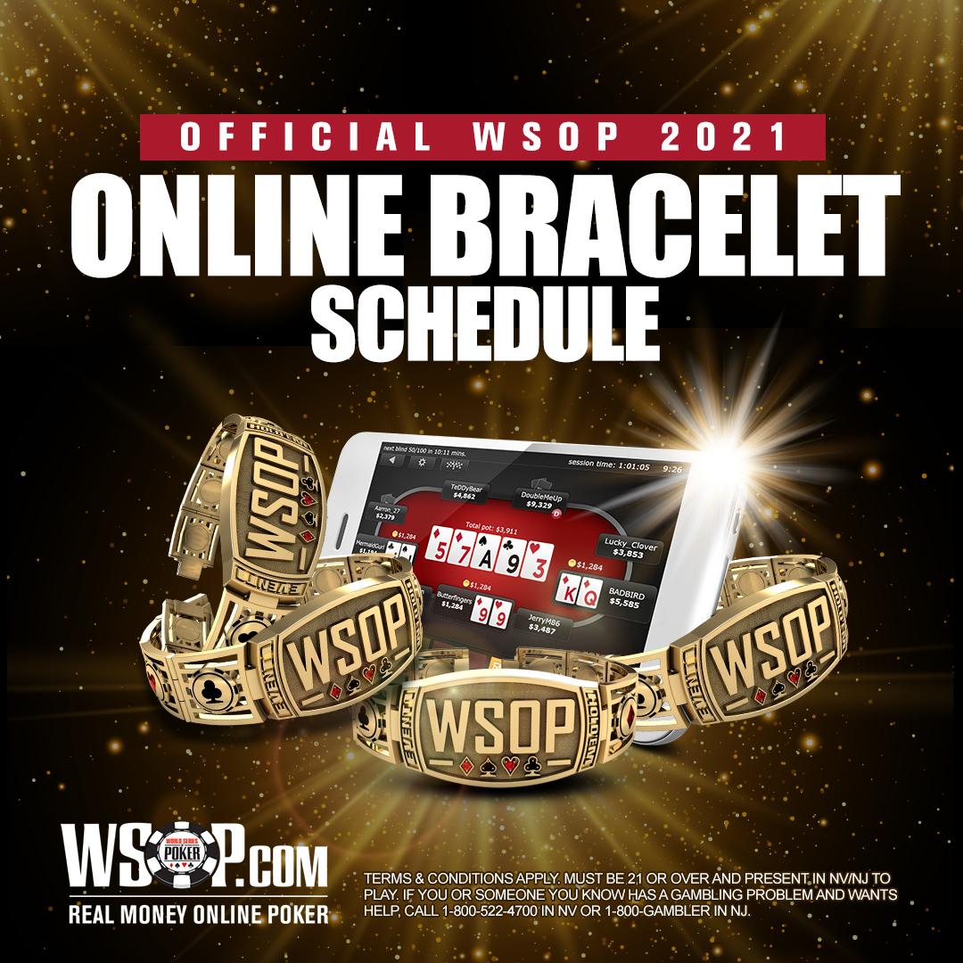2021 online bracelet schedule