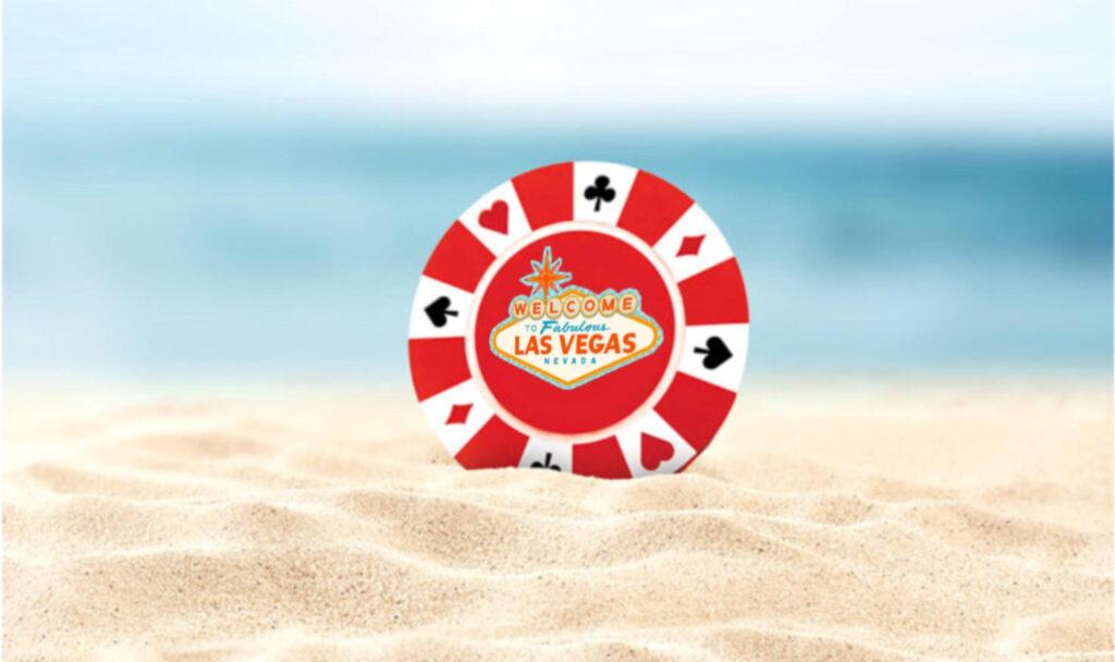 summer poker chip vegas