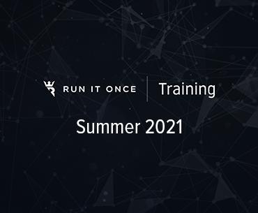 Run It Once Training Summer 2021